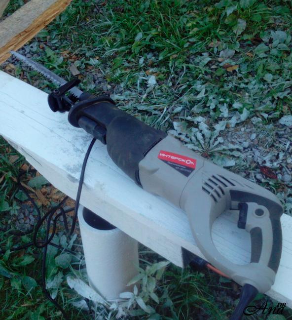 Сабельная пила - ножовка электрическая