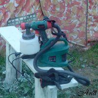 Электрический краскопульт - красим стены, заборы и деревья  в саду без проблем